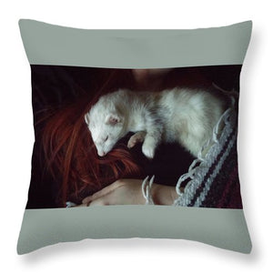 Nap Time - Throw Pillow