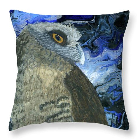 Night Owl - Throw Pillow