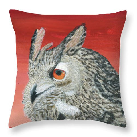 Owl - Throw Pillow