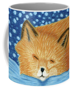 Sleepy Fox - Mug
