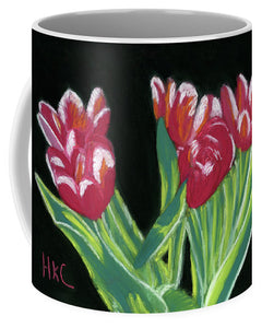 Tulips In High Contrast - Mug