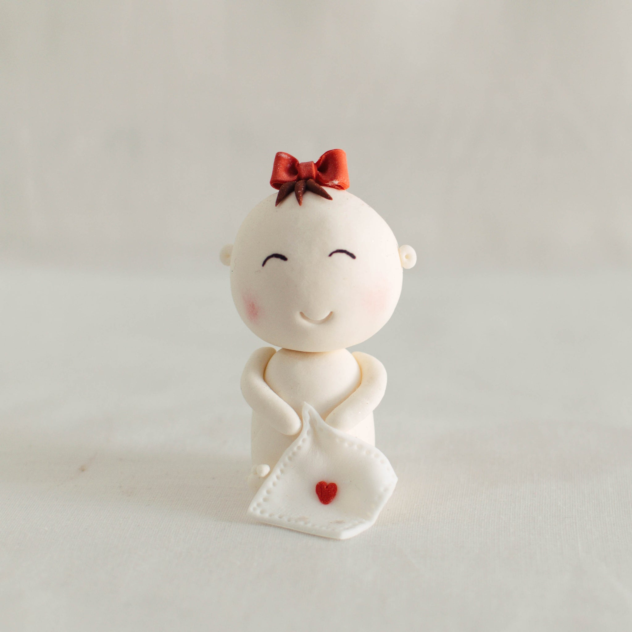 Baby Fondant Topper - Custom Bakes by Edith Patisserie