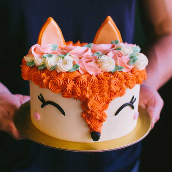 Bohemian Fox Cake - Custom Bakes by Edith Patisserie