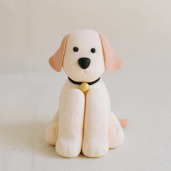 Sitting Dog Topper - Custom Bakes by Edith Patisserie