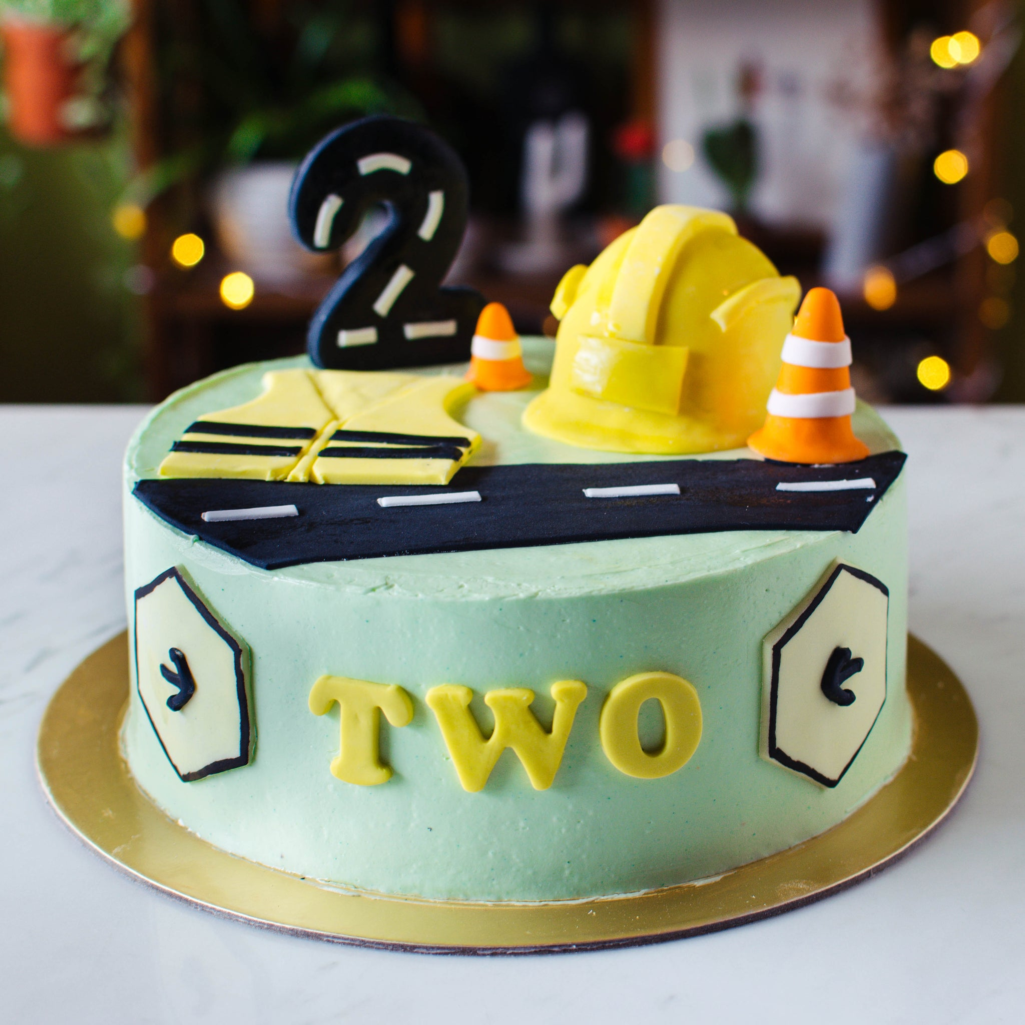 Construction Themed Cake - Custom Bakes by Edith Patisserie