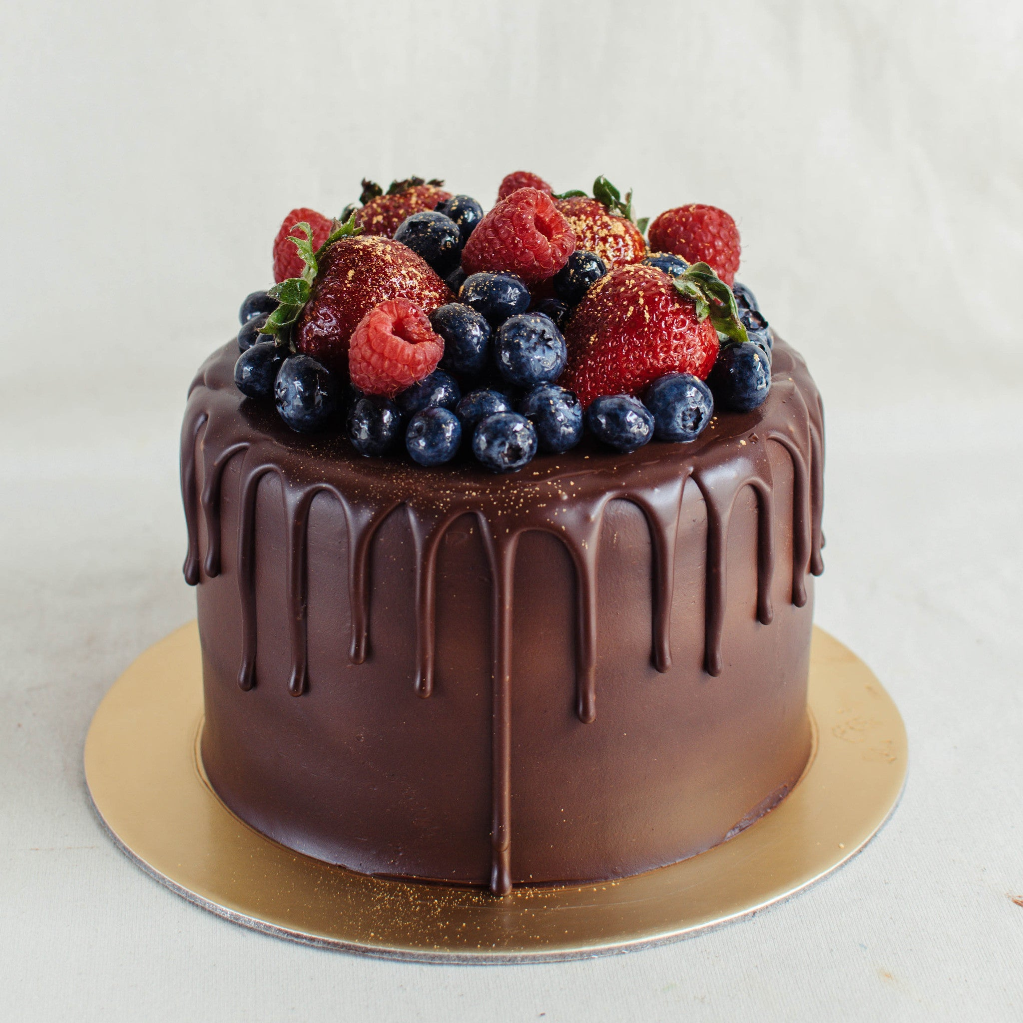Chocolate Truffle with Mixed Berries - Custom Bakes by Edith Patisserie