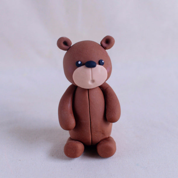 Bear Fondant Topper - Custom Bakes by Edith Patisserie
