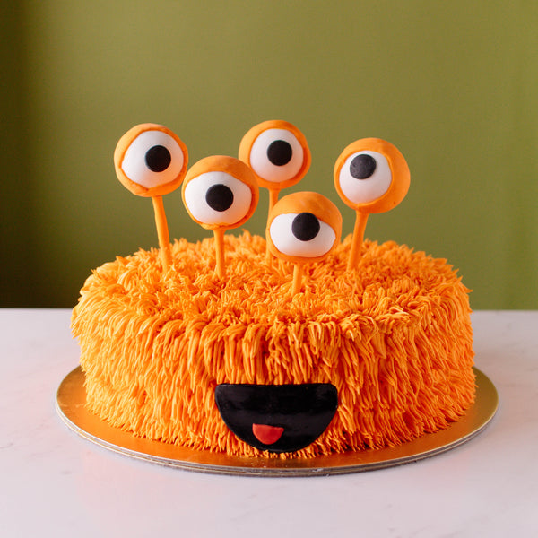 5-Eyed Monster Cake