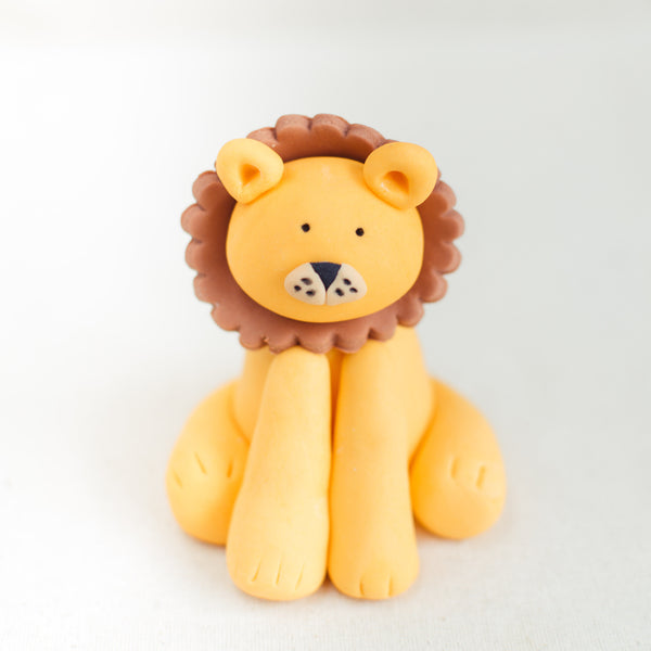Lion Fondant Topper - Custom Bakes by Edith Patisserie