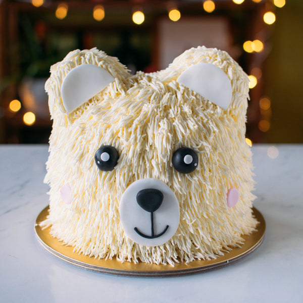Bear Cake - Custom Bakes by Edith Patisserie