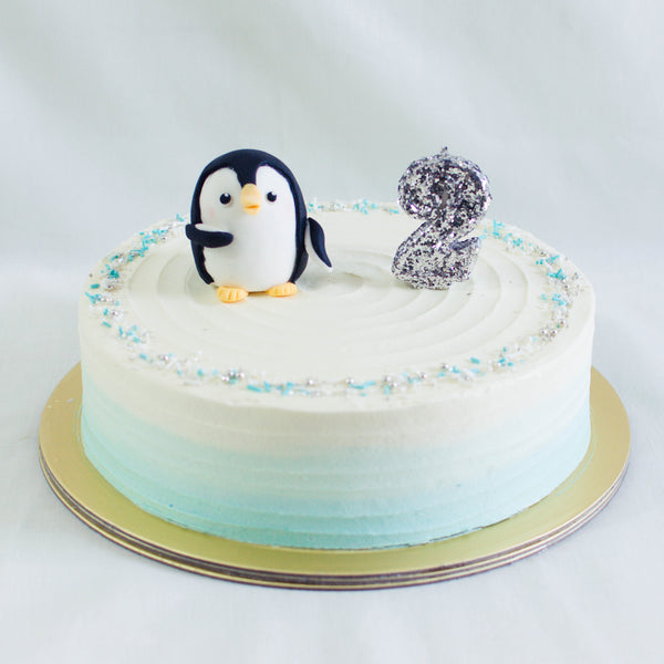 Penguin Topper - Custom Bakes by Edith Patisserie