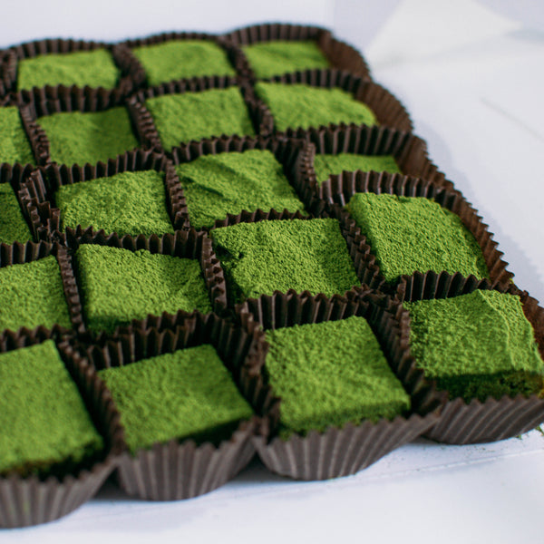Matcha Blondies - Custom Bakes by Edith Patisserie