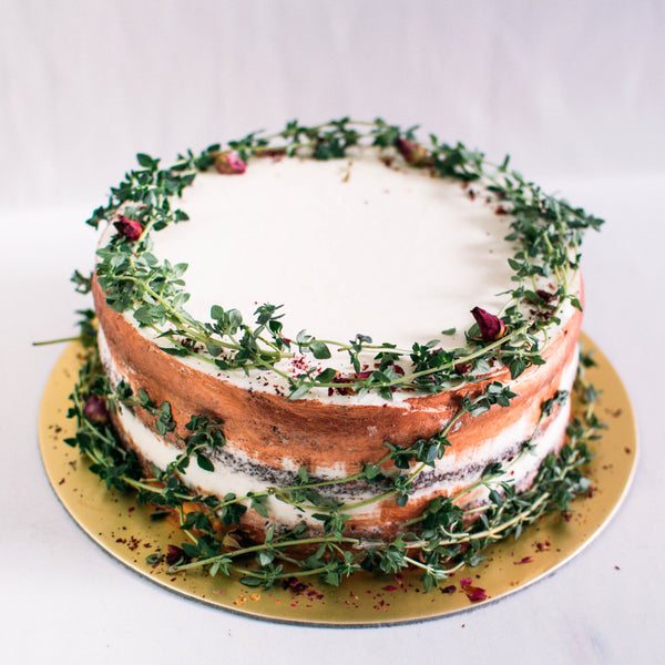 Rustic Rose Gold & Thyme - Custom Bakes by Edith Patisserie