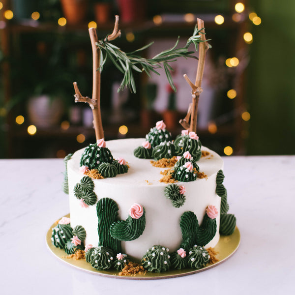 Cactus Cake - Custom Bakes by Edith Patisserie