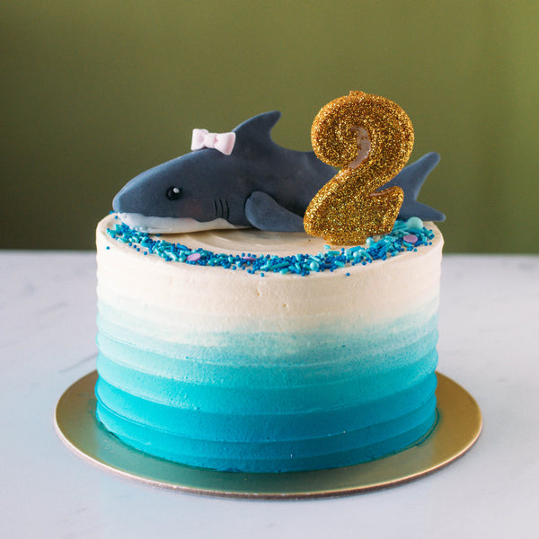Shark Topper - Custom Bakes by Edith Patisserie