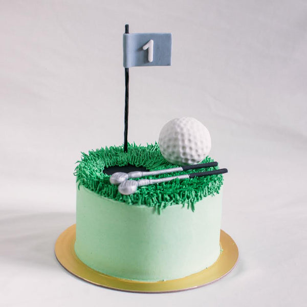 Golf Cake - Custom Bakes by Edith Patisserie