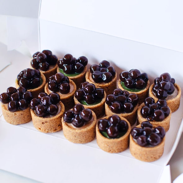 Mini Bubble Tea Tarts