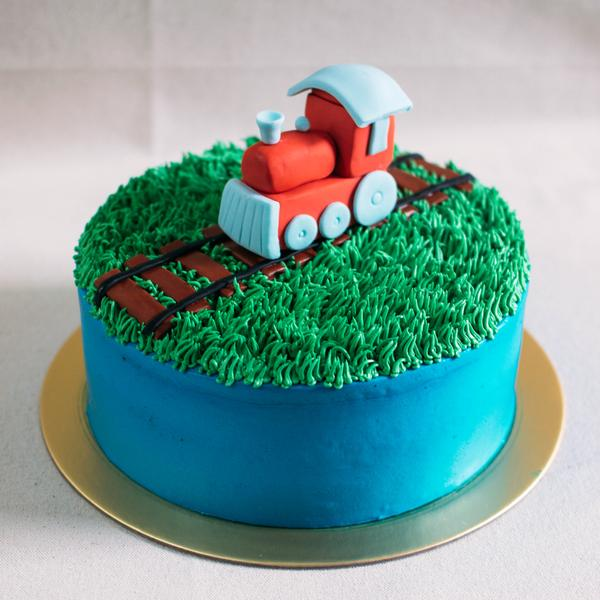 Train Cake - Custom Bakes by Edith Patisserie