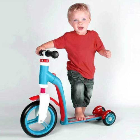 Scoot & Ride Revolutionary Design takes kids scooters to a whole new level of fun