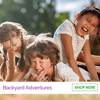 Fun toys for the backyard - get your kids out in the sun