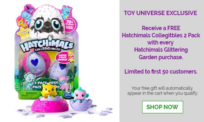 FREE Gift Offer for Hatchimals