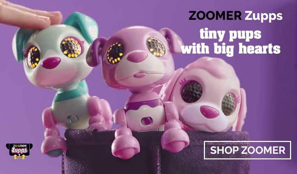 Zoomer Zupps Tiny Pups - buy them now at Toy Universe