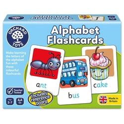 Alphabet Flashcards by Orchard Toys