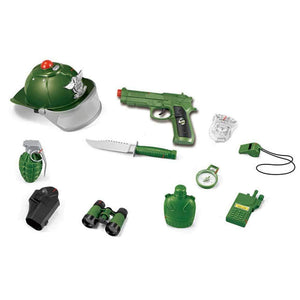 Army Weapons and accessories Set with Lights and Sounds