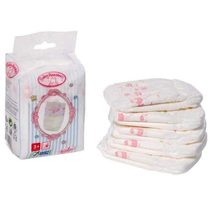 Baby Annabell Doll Nappies - 5 Pack