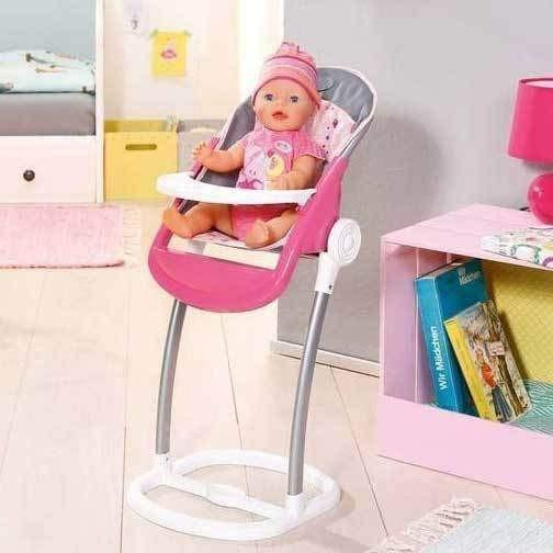 Buy Baby Born Doll Highchair online at Toy Universe