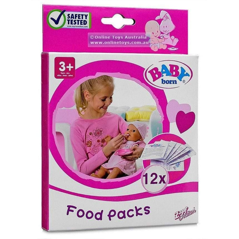 Buy Baby Born Food - 16 Pack Online at Toy Universe