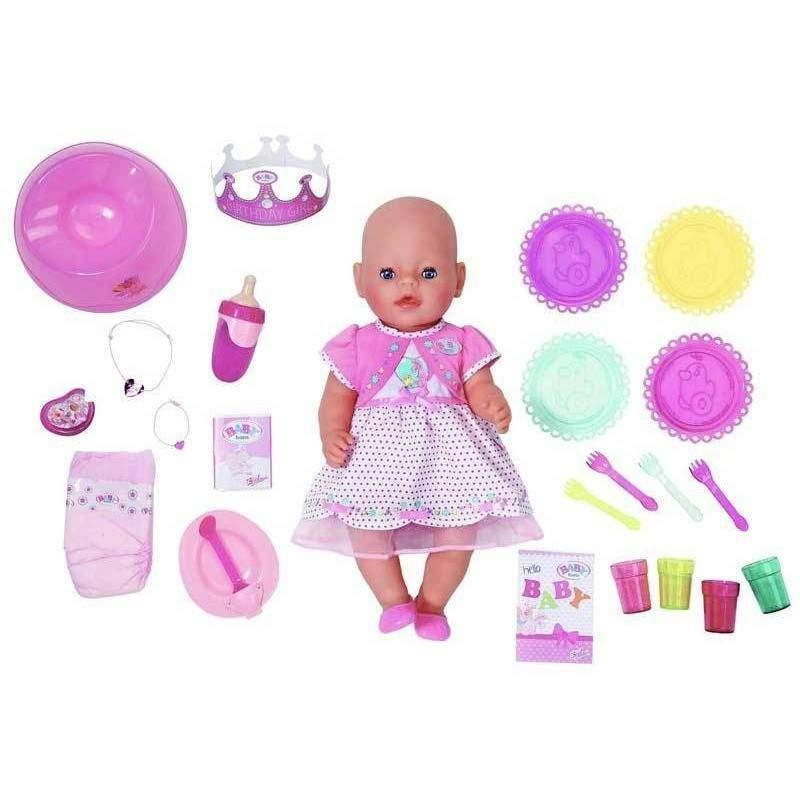 buy baby born interactive happy birthday doll online at. Black Bedroom Furniture Sets. Home Design Ideas