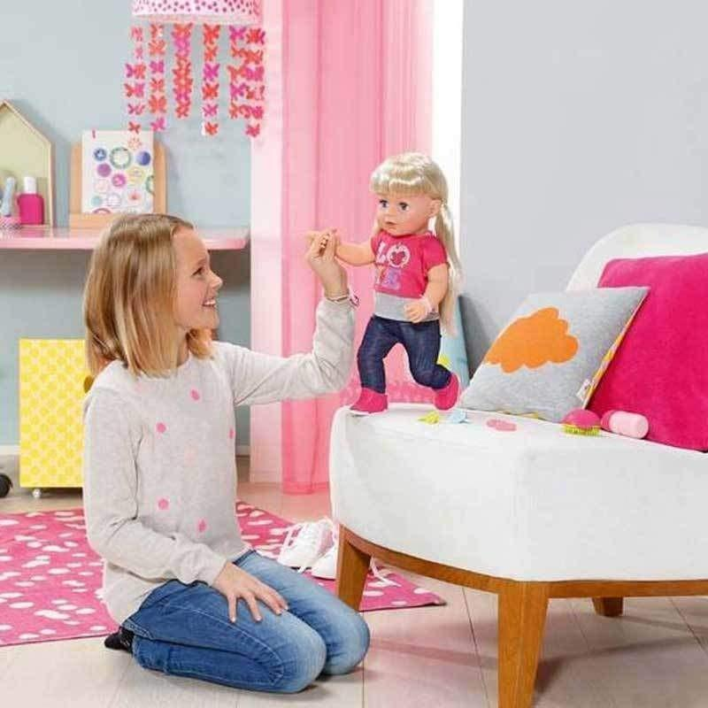 buy baby born interactive sister doll online at toy. Black Bedroom Furniture Sets. Home Design Ideas