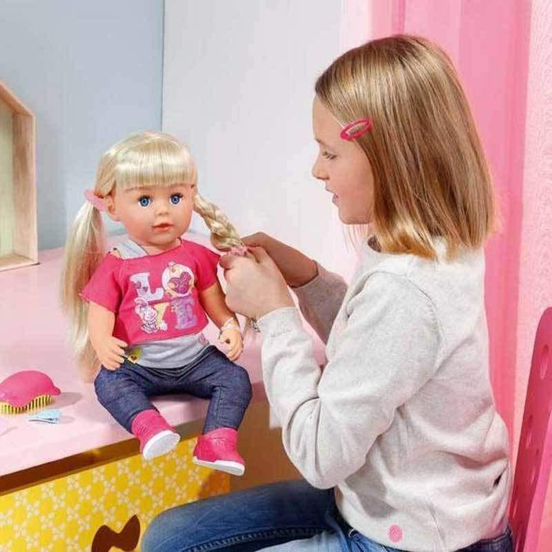 Toys For Siblings : Buy baby born interactive sister doll online at toy