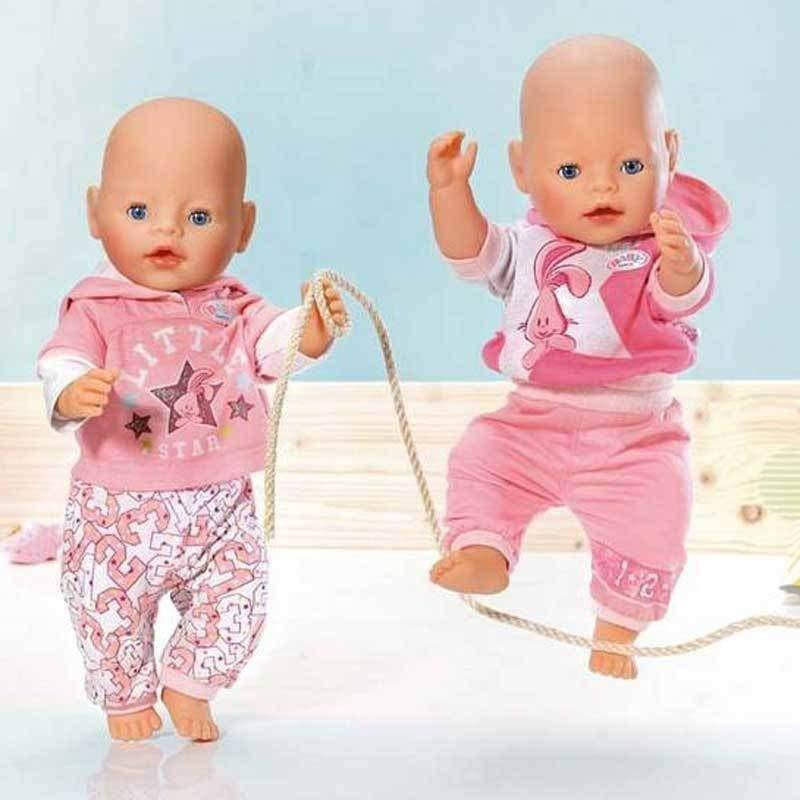 Baby Born (43cm) Girl doll clothes > Baby Born. These clothes are designed for Baby Born® and similar sized dolls approximately 43cm (17