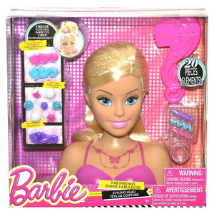 Barbie Fab Friends Styling Head