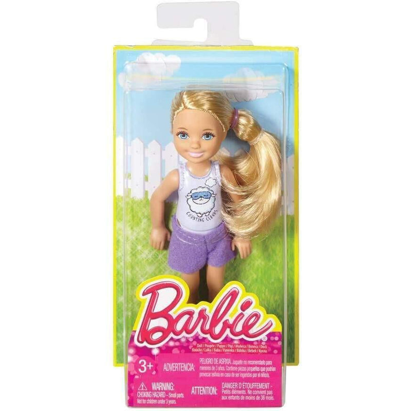 Barbie Sisters Chelsea And Friends Doll Bedtime Fun At