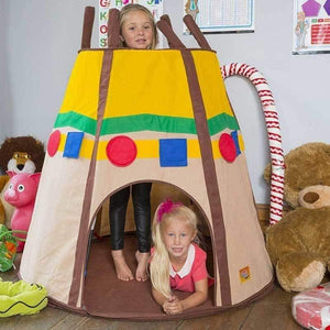 Bazoongi Tee Pee Play Tent  sc 1 st  Toy Universe & Buy Kids Play Tents Online at ToyUniverse Australia
