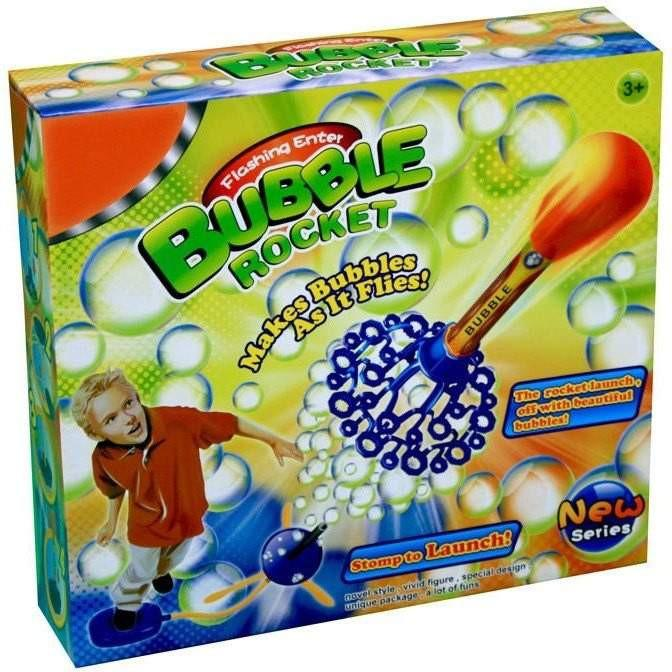 Buy Bubble Stomp Rocket with Bubble Solution Online at Toy Universe