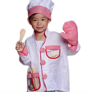 Chef Kids Dress Up with Accessories