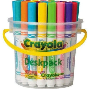 Crayola 32 Bright Ultra Clean Washable Markers Deskpack