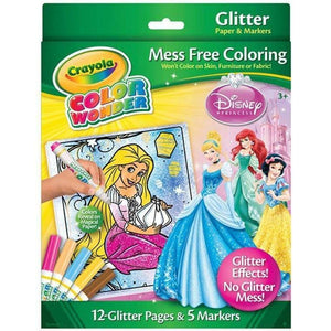Crayola Colour Wonder Markers and Paper - Disney Princess