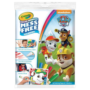 Crayola Colour Wonder Mess Free Paw Patrol Colouring Kit