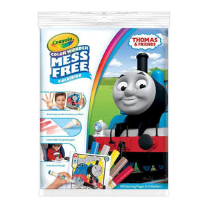Crayola Colour Wonder Mess Free Thomas & Friends Colouring Kit