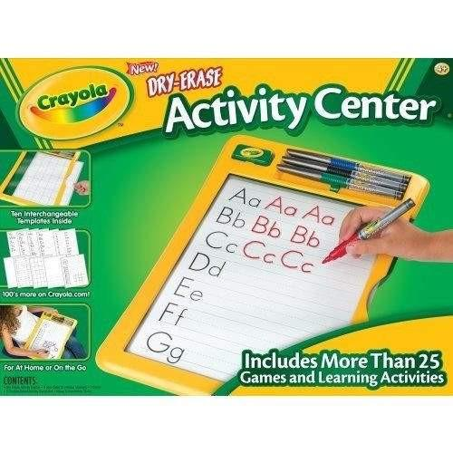 Crayola Crayola Dry Erase Activity Center with Markers - Buy Online