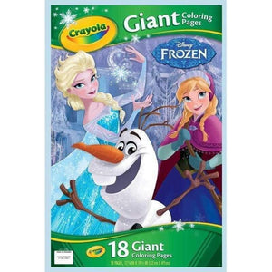 Crayola Giant Colouring Pages Disney Frozen