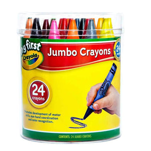 Crayola My First Jumbo Crayons - 24 Pack