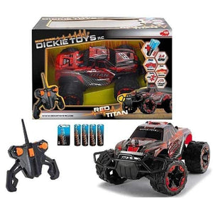 Dickie Toys RC 2.4Ghz Red Titan Monster Truck