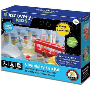 Discovery Kids Chemistry Lab Kit with 80 Experiments