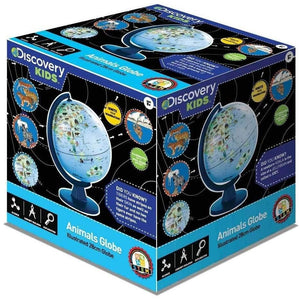 Discovery Kids Illustrated Animal Globe